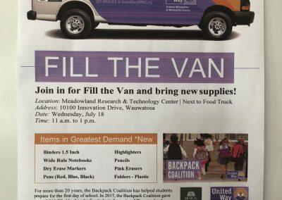 Fill The Van